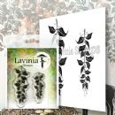 Lavinia - Clear Stamp - Berry Leaves
